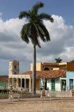 Κούβα, Τρινιδάδ, κεντρικό Plaza Στοκ φωτογραφίες με δικαίωμα ελεύθερης χρήσης