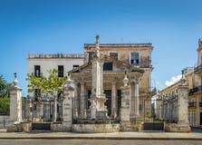 Κούβα EL Αβάνα templete στοκ εικόνες