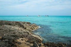 Κούβα, Varadero, ατλαντική ακτή Στοκ Φωτογραφία
