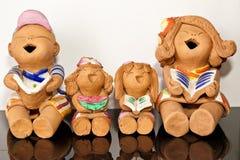 κούκλα αργίλου Στοκ εικόνες με δικαίωμα ελεύθερης χρήσης