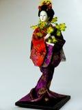κούκλα ιαπωνικά Στοκ εικόνες με δικαίωμα ελεύθερης χρήσης