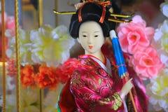 κούκλα ιαπωνικά Στοκ φωτογραφία με δικαίωμα ελεύθερης χρήσης