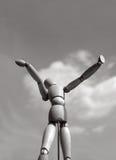 κούκλα ξύλινη Στοκ φωτογραφία με δικαίωμα ελεύθερης χρήσης