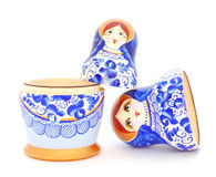 κούκλα ρωσικά Στοκ φωτογραφίες με δικαίωμα ελεύθερης χρήσης
