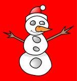 κούκλα Χριστουγέννων Στοκ Εικόνες