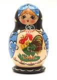 κούκλα babushka Στοκ εικόνα με δικαίωμα ελεύθερης χρήσης