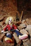 κούκλα scary Στοκ φωτογραφία με δικαίωμα ελεύθερης χρήσης