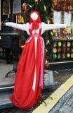 Κούκλα Shrovetide Εορτασμοί Shrovetide στη Μόσχα Στοκ Φωτογραφίες