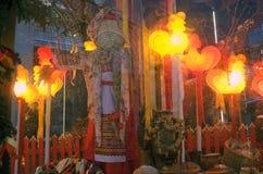 Κούκλα Shrovetide Εορτασμοί Shrovetide στη Μόσχα Στοκ φωτογραφία με δικαίωμα ελεύθερης χρήσης