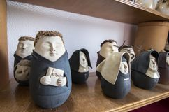 Κούκλες αναμνηστικών των πορτογαλικών χαρακτήρων Στοκ Εικόνες