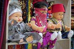 Κούκλες για την πώληση στο μεγάλο Bazaar στη Ιστανμπούλ Στοκ Φωτογραφίες