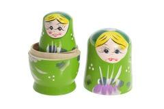 κούκλες που τοποθετούνται τα ρωσικά Στοκ φωτογραφίες με δικαίωμα ελεύθερης χρήσης
