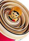 κούκλες που τοποθετο Στοκ φωτογραφίες με δικαίωμα ελεύθερης χρήσης