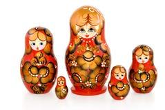 κούκλες που τοποθετο Στοκ Εικόνες