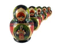 κούκλες ρωσικά Στοκ φωτογραφίες με δικαίωμα ελεύθερης χρήσης