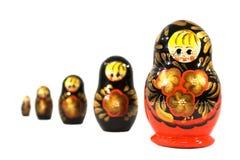 κούκλες ρωσικά Στοκ εικόνες με δικαίωμα ελεύθερης χρήσης