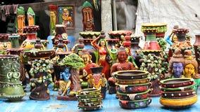 Κούκλες τέχνης και τεχνών άμμου στοκ φωτογραφία με δικαίωμα ελεύθερης χρήσης