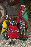 κούκλες της Αφρικής Στοκ φωτογραφίες με δικαίωμα ελεύθερης χρήσης