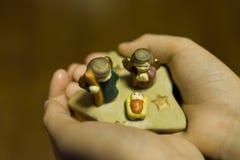 Κούκλες Χριστουγέννων Στοκ εικόνες με δικαίωμα ελεύθερης χρήσης
