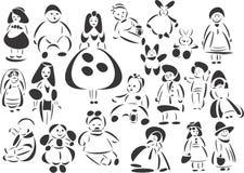 κούκλες Στοκ Φωτογραφίες