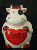 Κούκλα αγελάδων Στοκ εικόνες με δικαίωμα ελεύθερης χρήσης