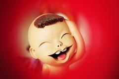 Κούκλα αργίλου αγοριών Στοκ φωτογραφίες με δικαίωμα ελεύθερης χρήσης