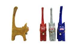 Κούκλα γατών Στοκ φωτογραφία με δικαίωμα ελεύθερης χρήσης