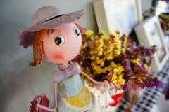 Κούκλα για την εγχώρια διακόσμηση Στοκ Φωτογραφίες