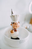 Κούκλα επιτραπέζιων ντεκόρ στοκ φωτογραφία με δικαίωμα ελεύθερης χρήσης