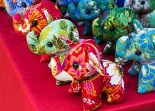 Κούκλα ελεφάντων Στοκ Εικόνες