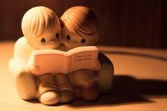 Κούκλα ζευγών πολύ αγάπης Στοκ εικόνες με δικαίωμα ελεύθερης χρήσης