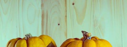 κούκλα και κολοκύθα για αποκριές Στοκ φωτογραφία με δικαίωμα ελεύθερης χρήσης