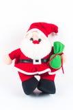 Κούκλα κουρελιών Claus Anta Στοκ φωτογραφία με δικαίωμα ελεύθερης χρήσης