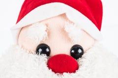 Κούκλα κουρελιών Claus Anta Στοκ εικόνα με δικαίωμα ελεύθερης χρήσης