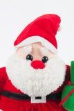 Κούκλα κουρελιών Claus Anta Στοκ φωτογραφίες με δικαίωμα ελεύθερης χρήσης