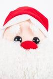 Κούκλα κουρελιών Claus Anta Στοκ Εικόνες