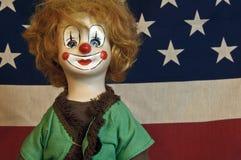 Κούκλα κλόουν Στοκ Φωτογραφίες