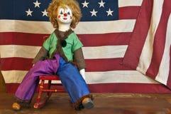 Κούκλα κλόουν Στοκ Εικόνες