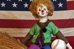 Κούκλα κλόουν Στοκ εικόνα με δικαίωμα ελεύθερης χρήσης