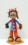 Κούκλα με το movil Στοκ Εικόνες
