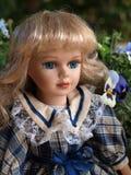 Κούκλα πορσελάνης Στοκ Φωτογραφίες