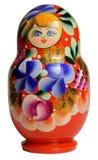 κούκλα που τοποθετείτ&alp Matryoshka Στοκ Εικόνες