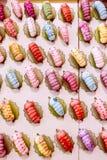 Κούκλα σκουληκιών στον τοίχο Στοκ εικόνες με δικαίωμα ελεύθερης χρήσης