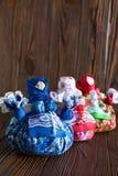 Κούκλα τα παραδοσιακά υφαντικά ρωσικά Στοκ Εικόνες