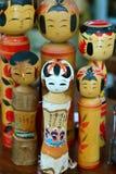 Κούκλα της Ιαπωνίας Στοκ Φωτογραφίες