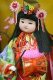 Κούκλα της Ιαπωνίας Στοκ εικόνες με δικαίωμα ελεύθερης χρήσης