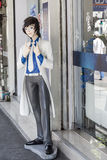 Κούκλα χαρακτήρα Anime στην οδό της Μπανγκόκ Στοκ Εικόνες