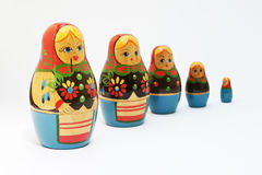 Κούκλα Matrioshkas Στοκ εικόνα με δικαίωμα ελεύθερης χρήσης