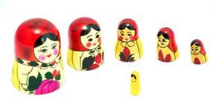Κούκλα Matrioska Στοκ εικόνες με δικαίωμα ελεύθερης χρήσης