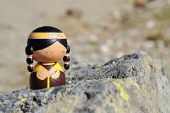 Κούκλα Momiji Στοκ φωτογραφία με δικαίωμα ελεύθερης χρήσης